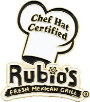 Rubio's Chef Hat Certified