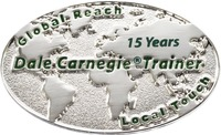 Dale Carnegie Trainer - 15 Years