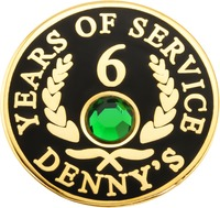 Denny's - 6 Years