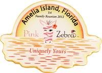 Amelia Island, FL-Pink Zebra