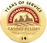 Akwesasne Mohawk Casino - 14 Years