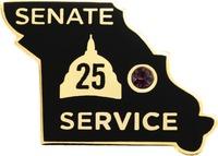 Senate Service - 25 Years