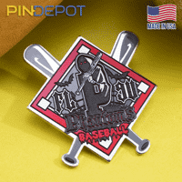 Phantoms Baseball Trading Pin