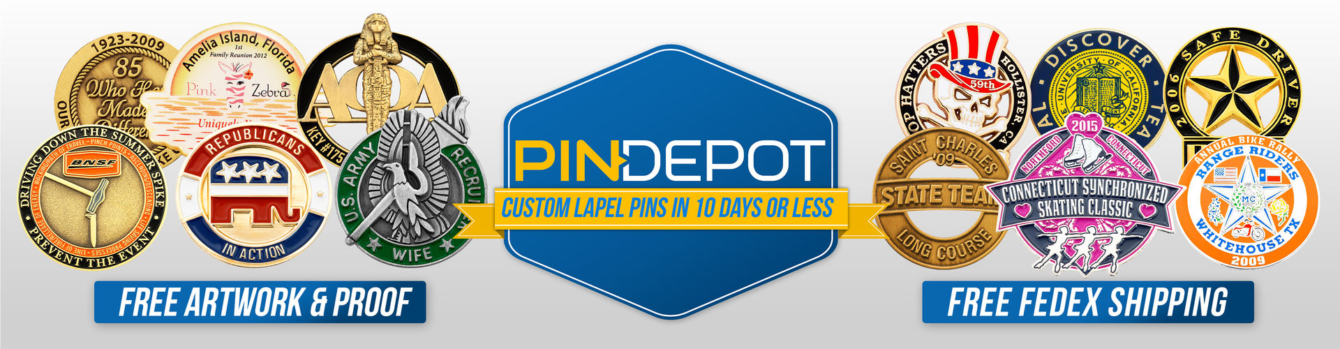 Pin Depot - Custom Lapel Pins in 10 Days or Less