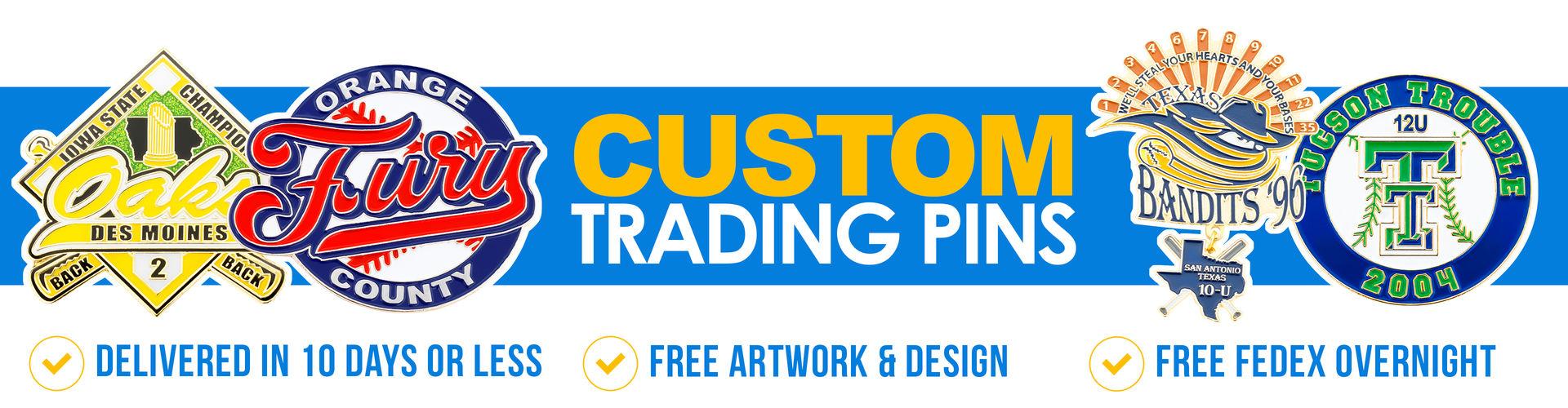 Custom Trading Pins